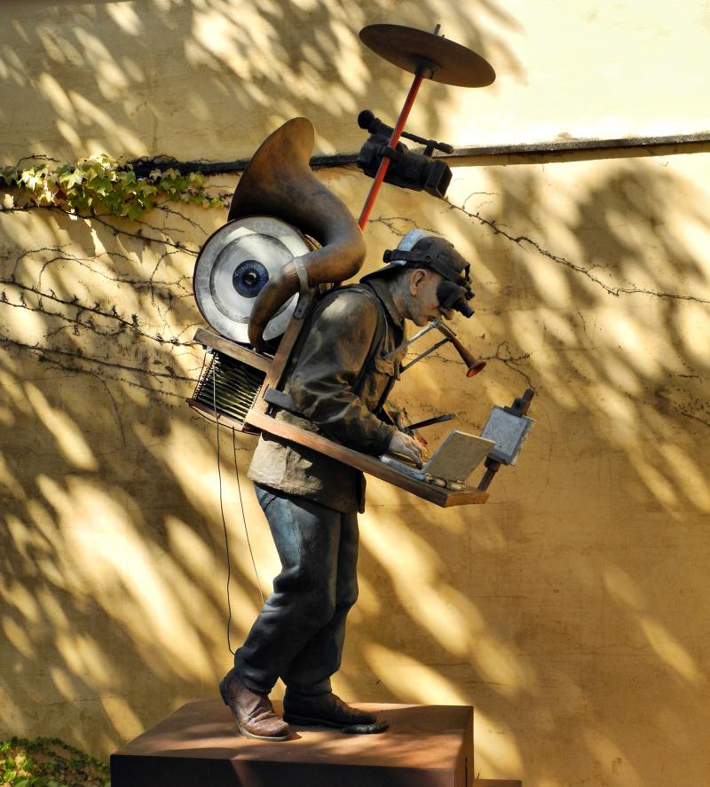 Seville Spain Sculpture