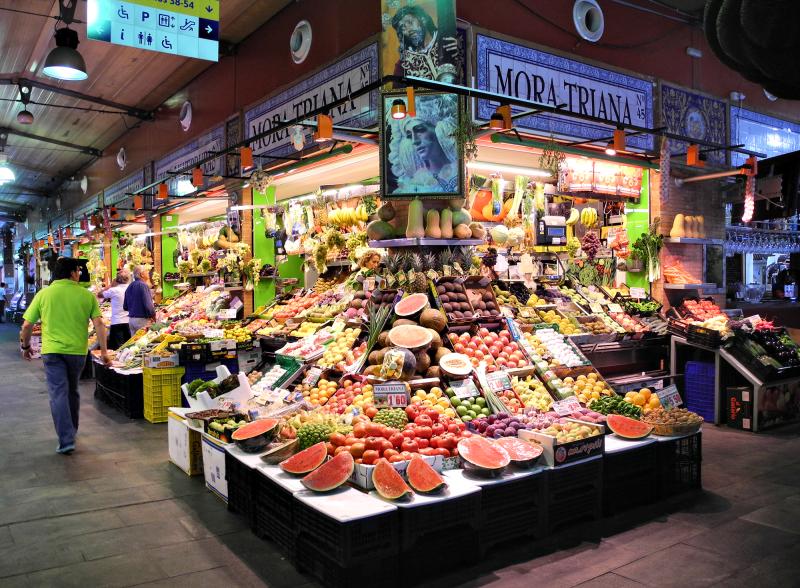 Seville Spain Mercado