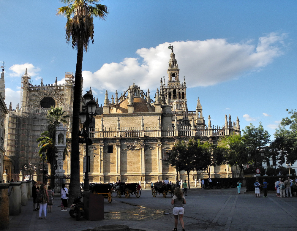 Seville Spain Cathedral