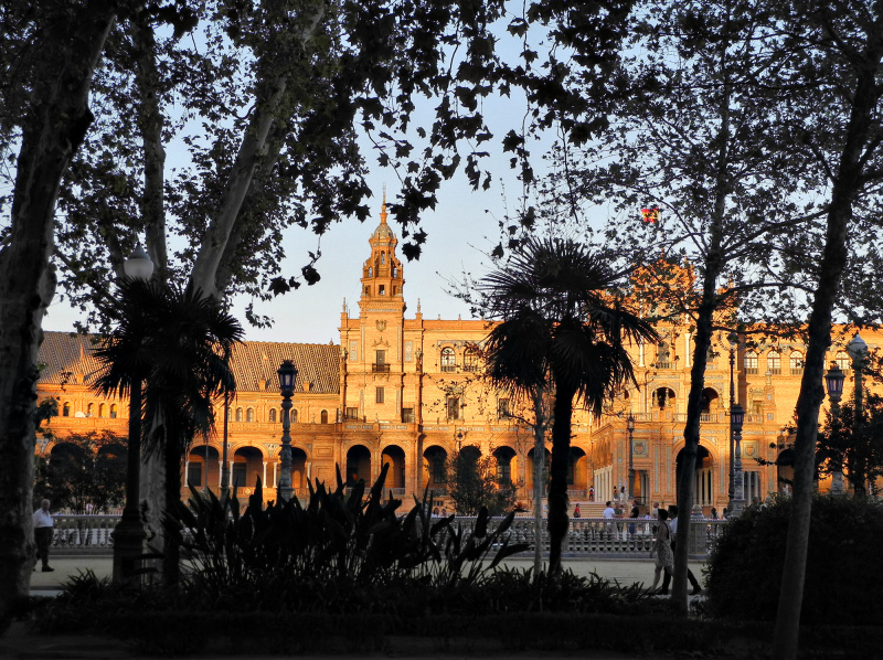 Seville Spain Plaza Espana