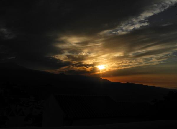 Comares Axarquia Spain Sun