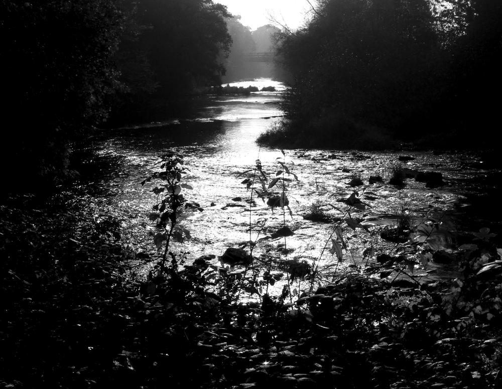 Ludlow Shropshire UK River Teme