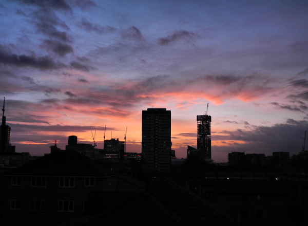 London UK Sunset