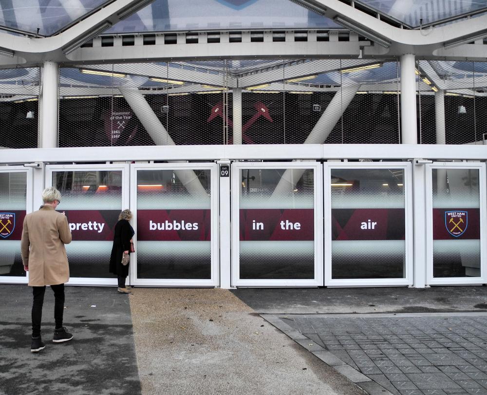 London UK Queen Elizabeth Park West Ham Ground