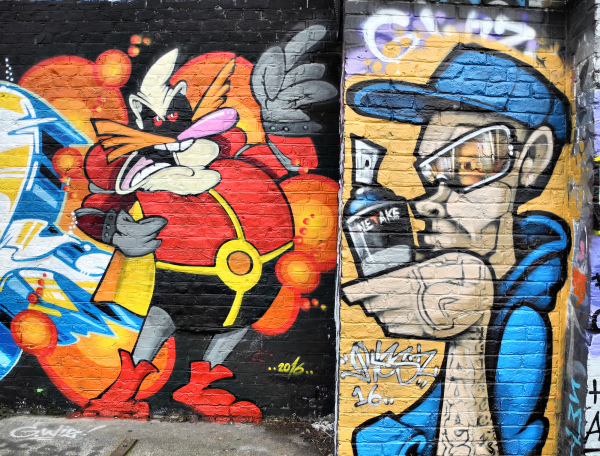 London UK Street Art