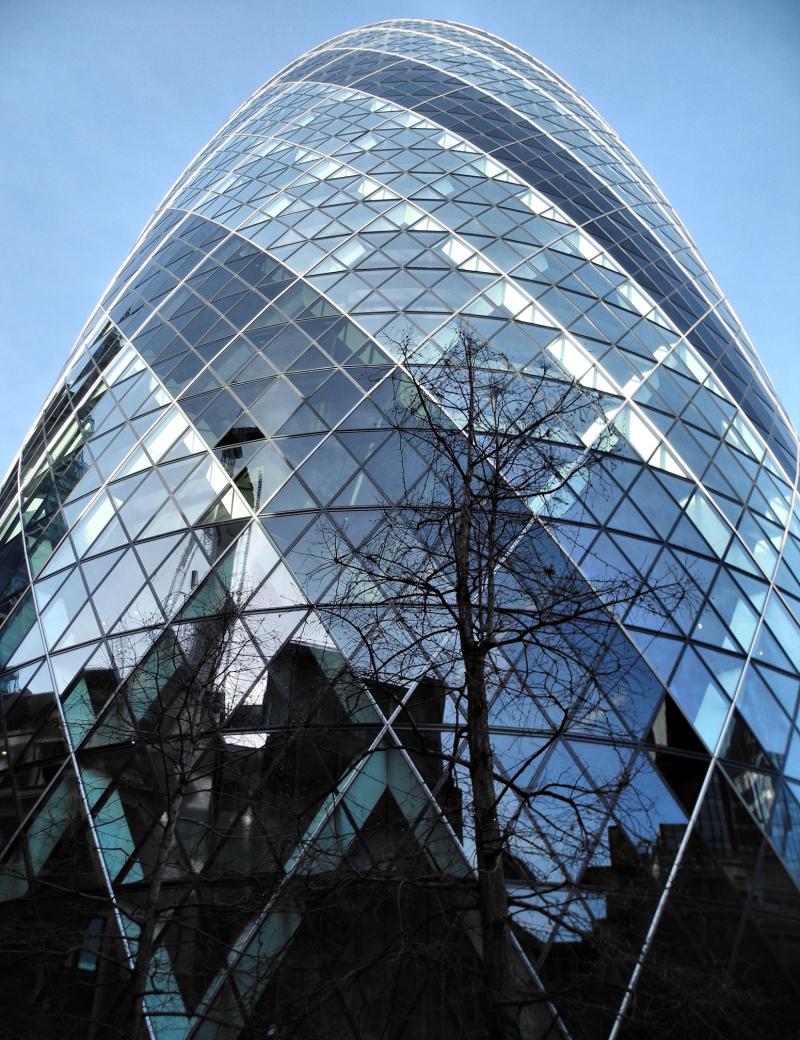 London UK Gherkin