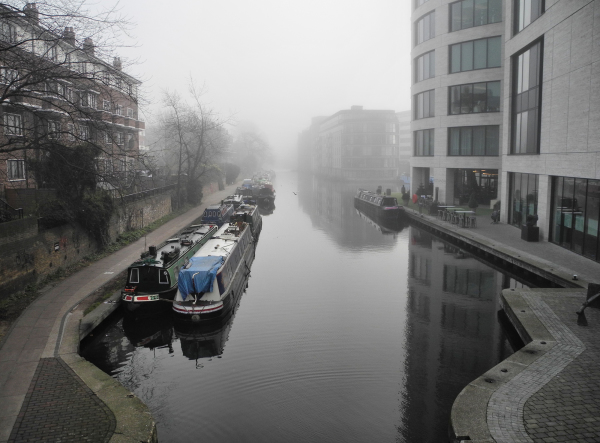 London UK Fog
