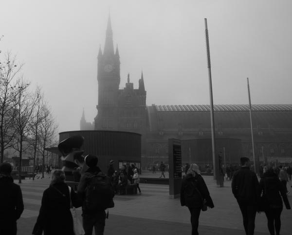 London UK Fog