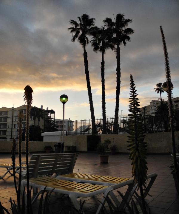 Gran Canaria Spain Sunset