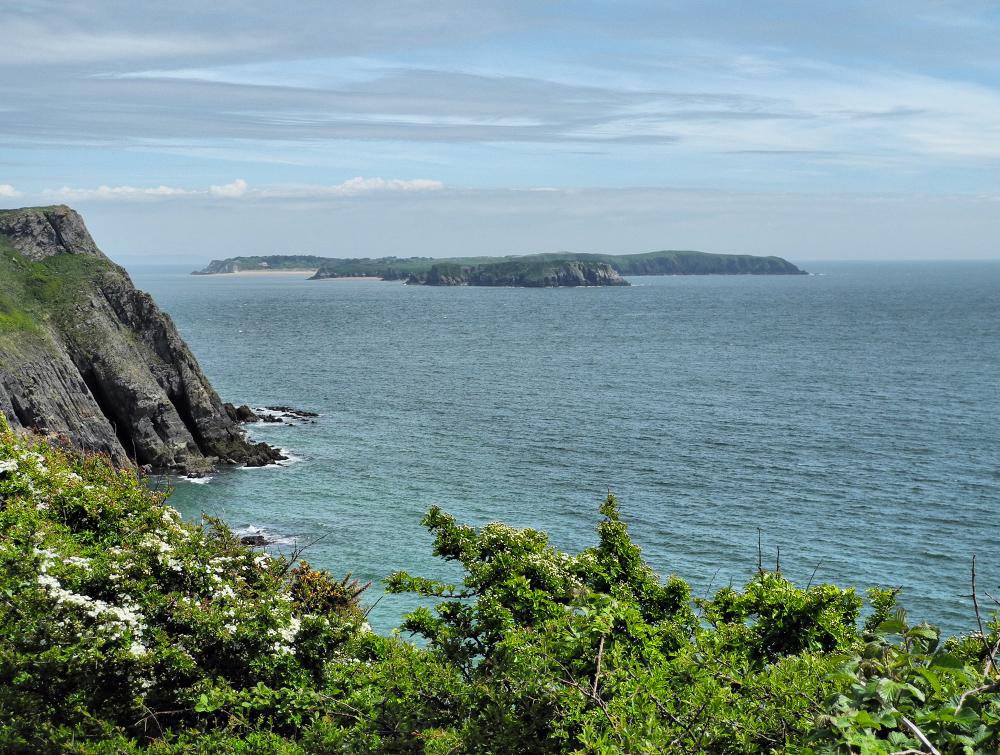 Caldey Island Pembrokeshire Wales UK