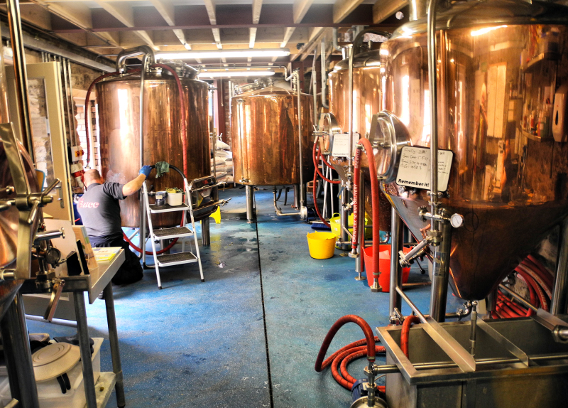 Tenby Wales UK Harbwr Brewery