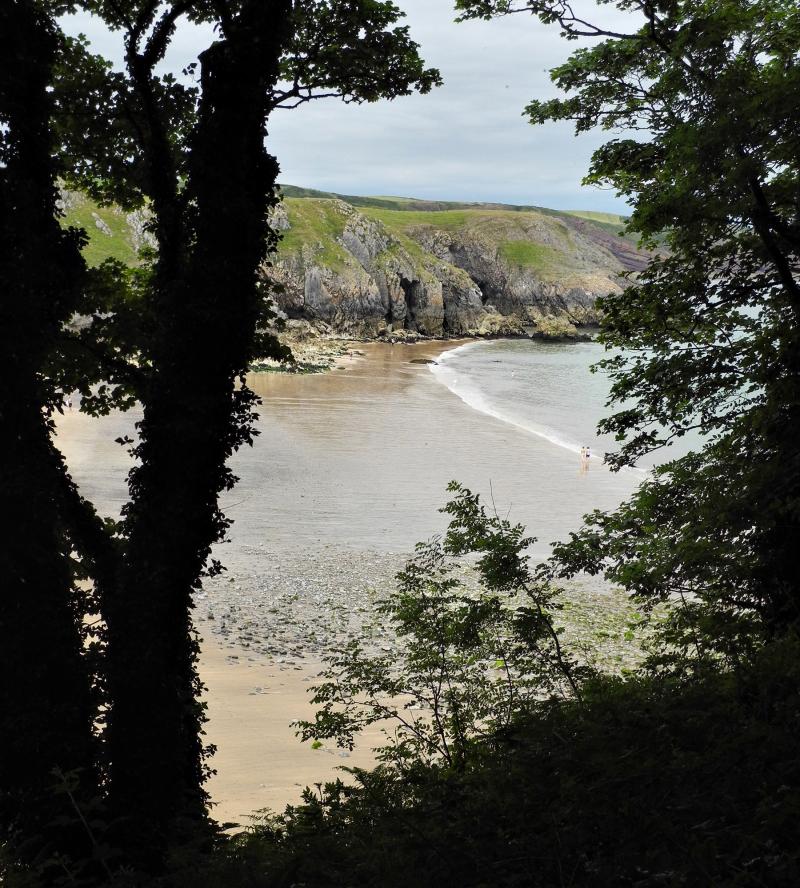 Pembrokeshire Wales UK Barafundle Bay