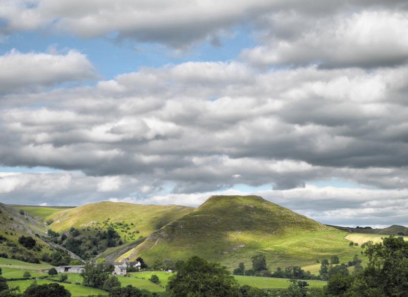 Derbyshire UK Thorpe Cloud