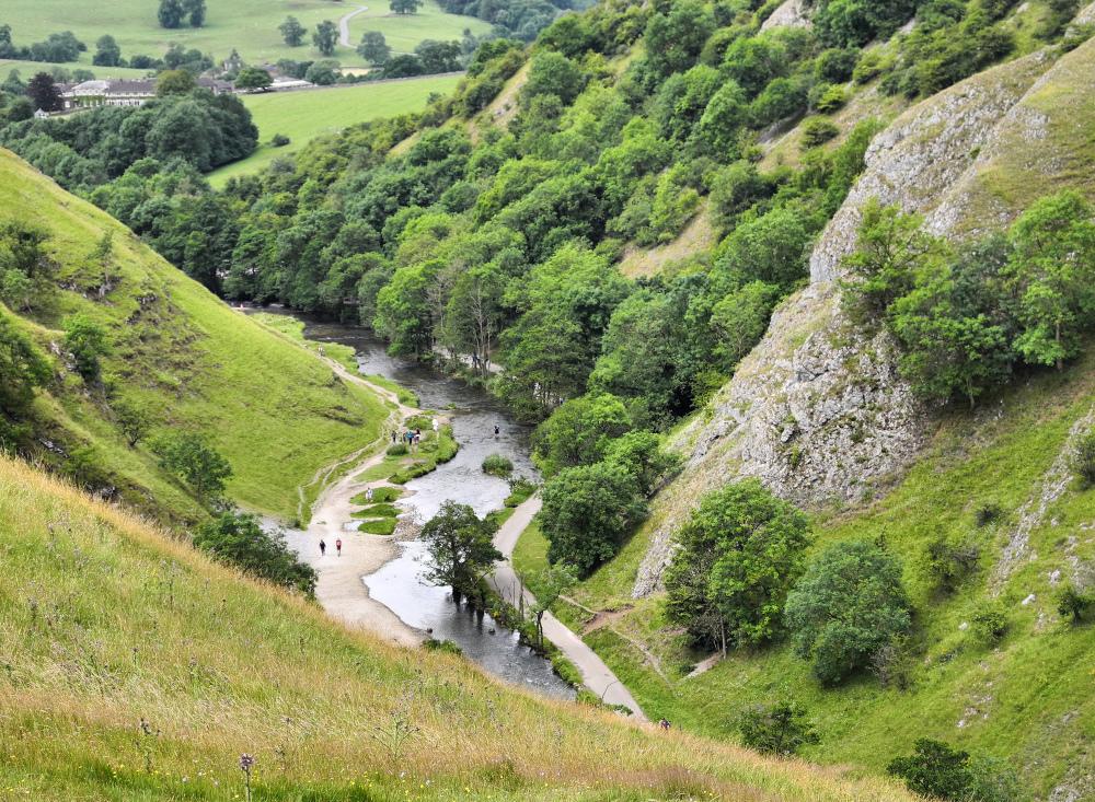 Derbyshire UK Dovedale