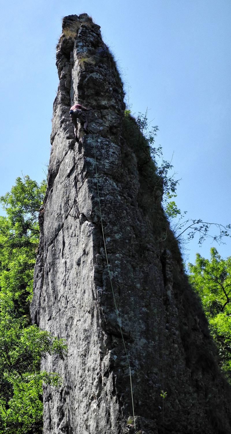 Derbyshire UK Dovedale Ilam Rock