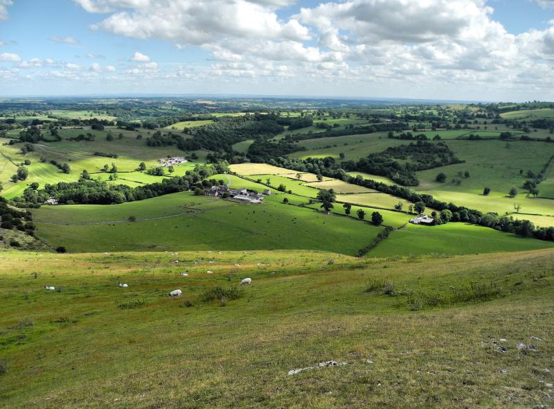Derbyshire UK Bunster Hill