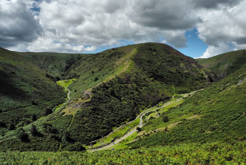 Shropshire UK Long Mynd