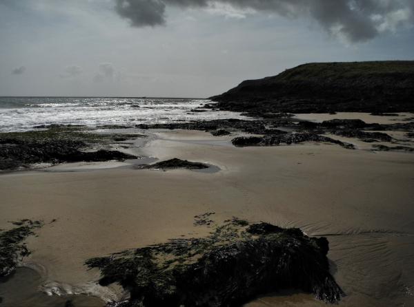 Pembrokeshire Wales UK Caldey Island