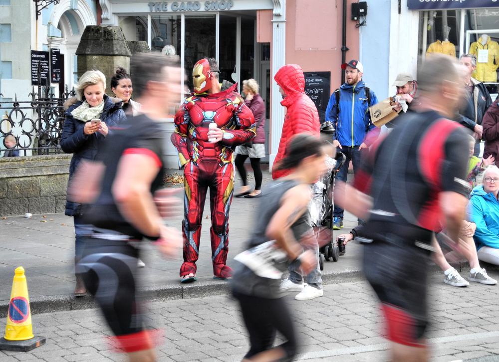 Tenby Wales UK Iron Man