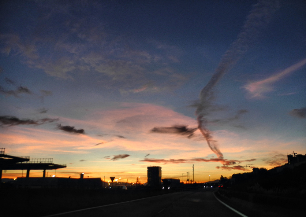 Bilbao Spain Dawn