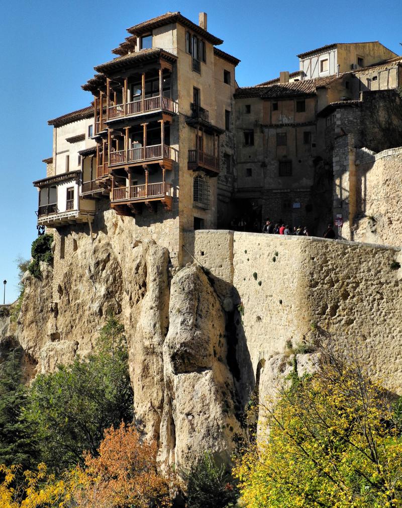Cuenca Spain Hanging Houses