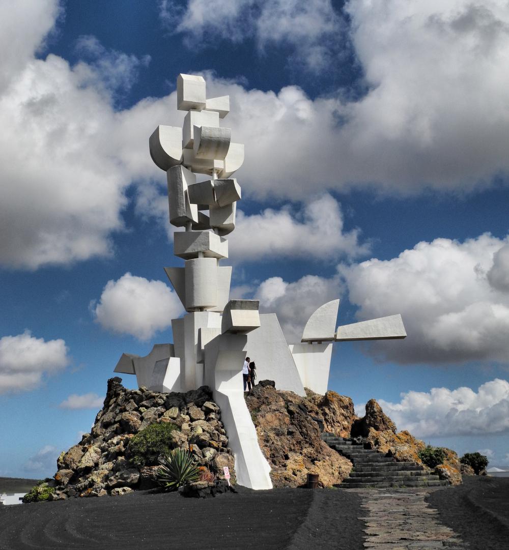 Lanzarote Campasino Monument Cesar Manrique Canari