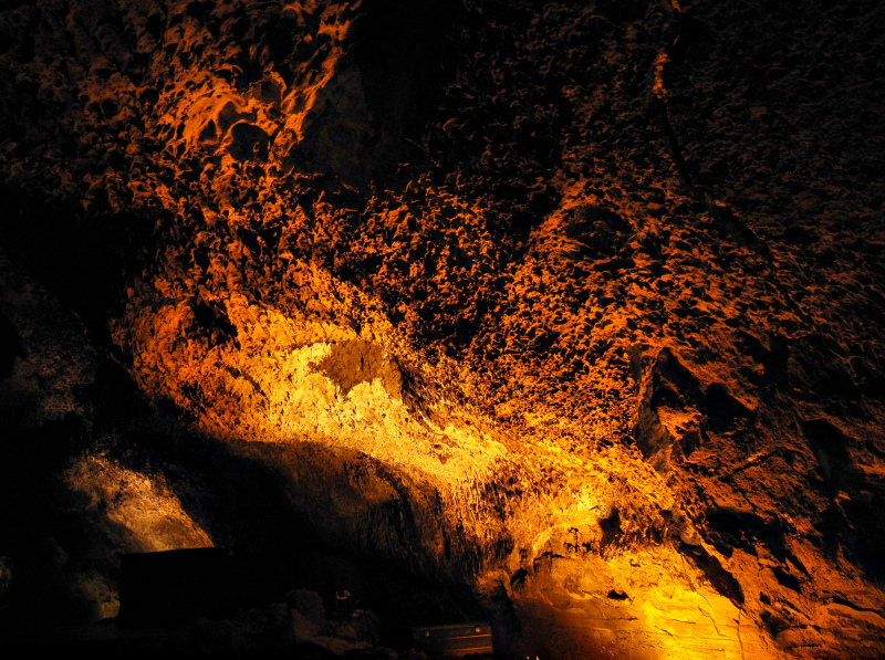 Lanzarote  Canaries Cueva de los Verdes