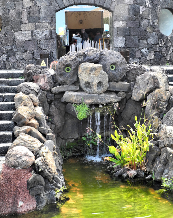 Lanzarote Cactus Garden Cesar Manrique Canaries