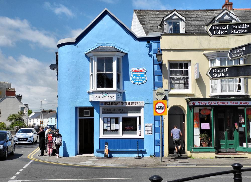 Tenby Wales UK