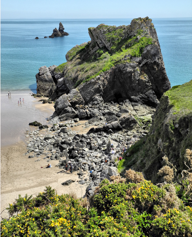 Pembrokeshire Wales UK Broadhaven