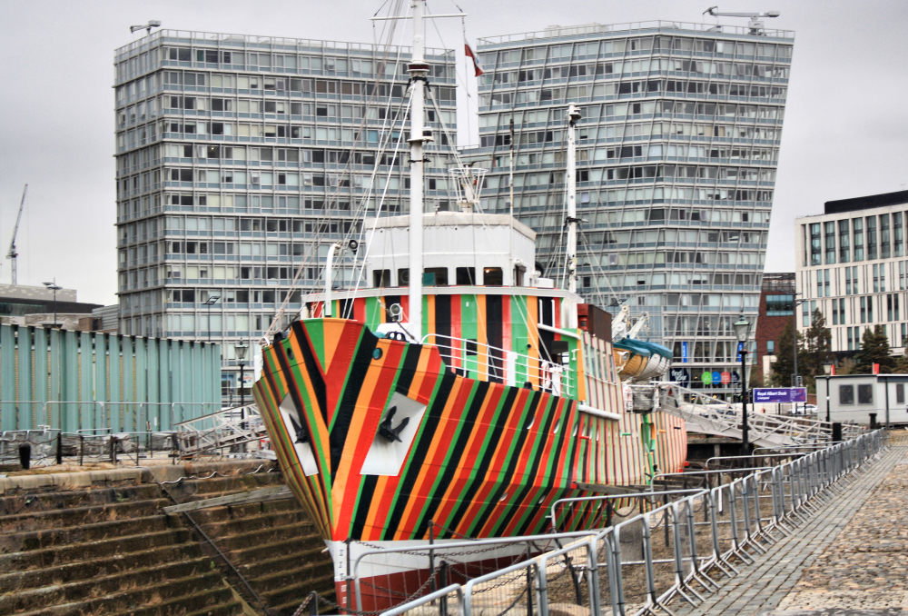 Liverpool UK Docks
