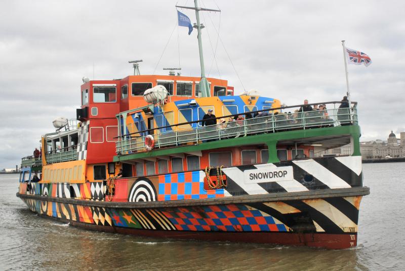 Liverpool UK Ferry