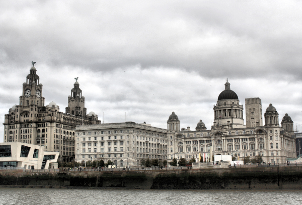 Liverpool UK Docks