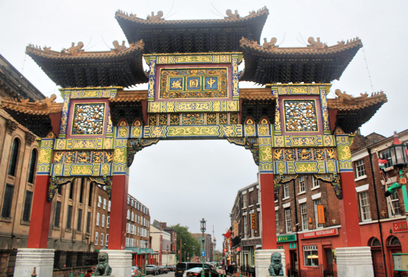 Liverpool UK China Town