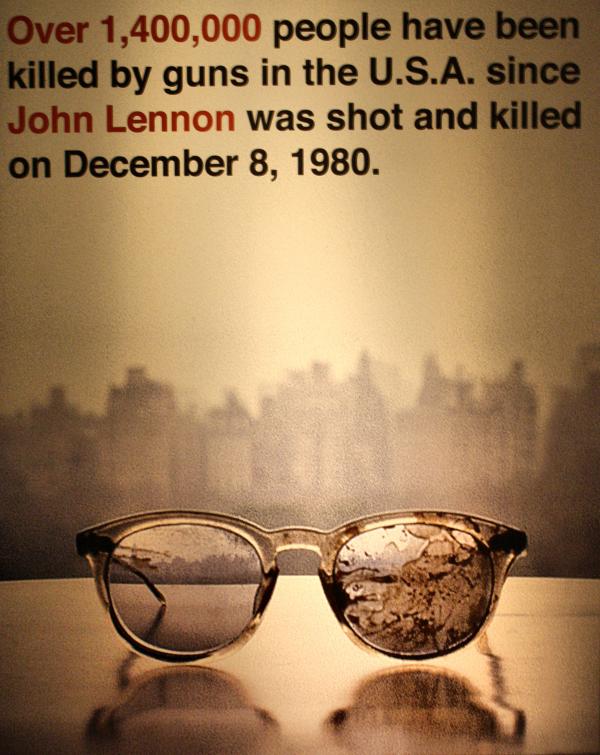 Liverpool UK Docks John Yoko