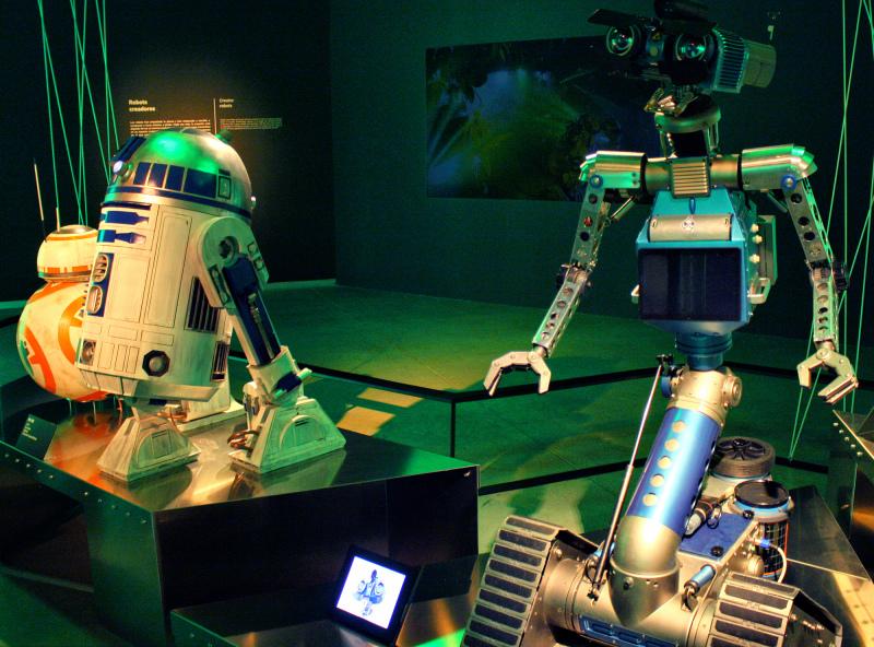 Madrid Spain Robots