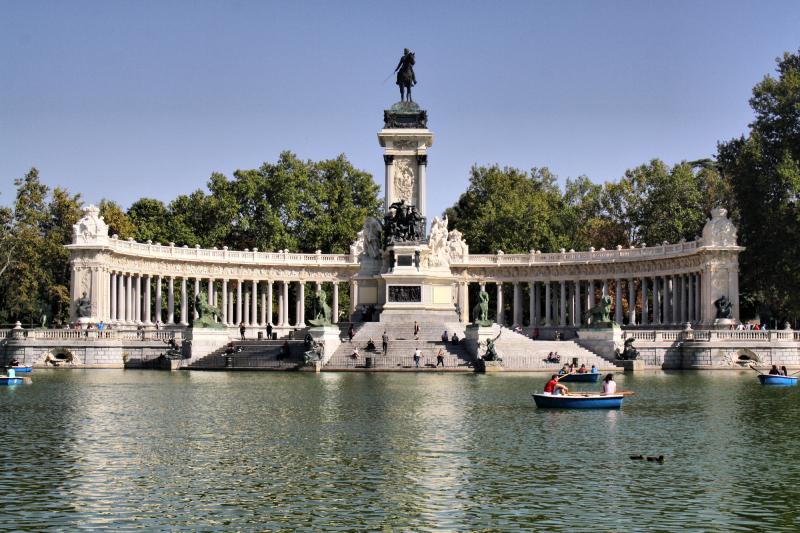 Madrid Spain Retiro Park