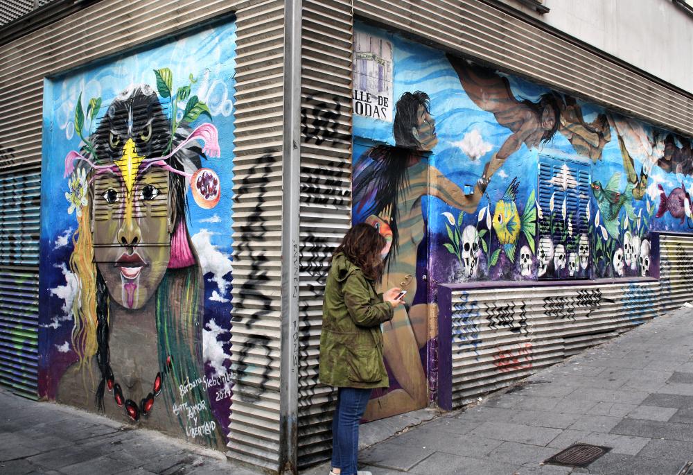 Madrid Spain Street Art