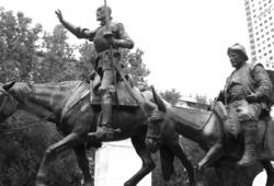 Madrid Spain Don Quixote