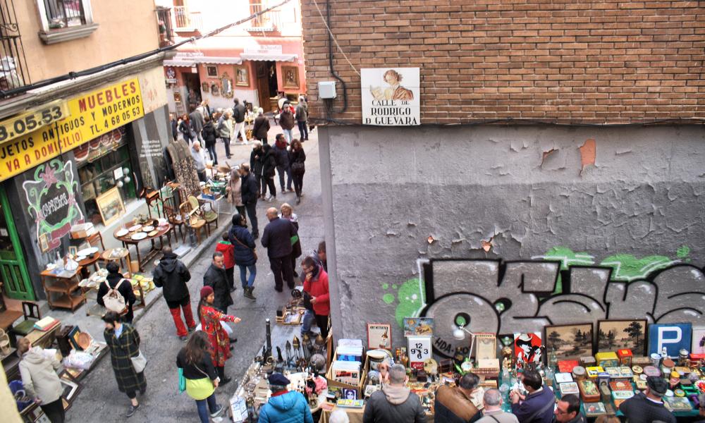 Madrid Spain Rastro
