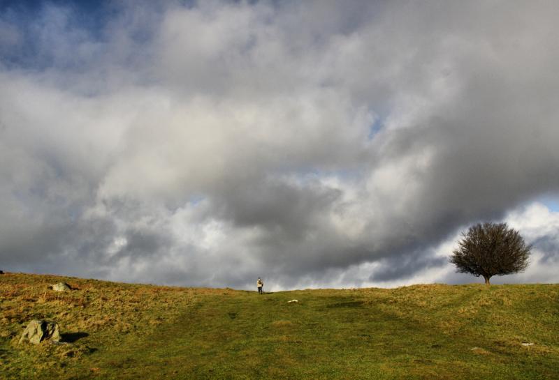 Lake District UK Cartland Fell