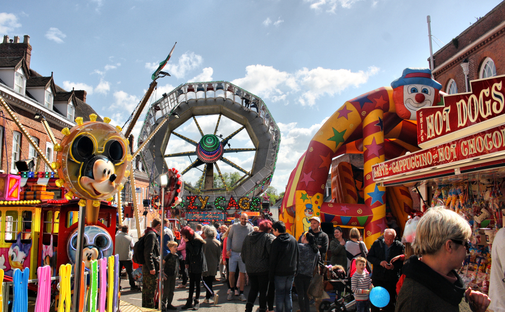 Ludlow Shropshire UK May Fair