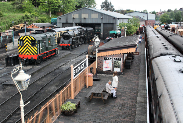 Severn Valley Railway at Bridgnorth UK