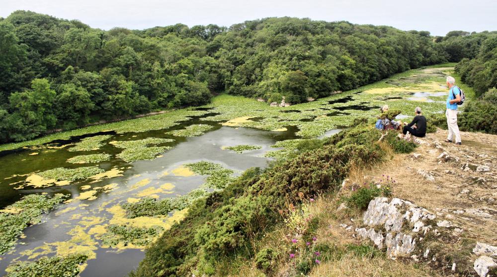 Pembrokeshire Wales UK Bosherston