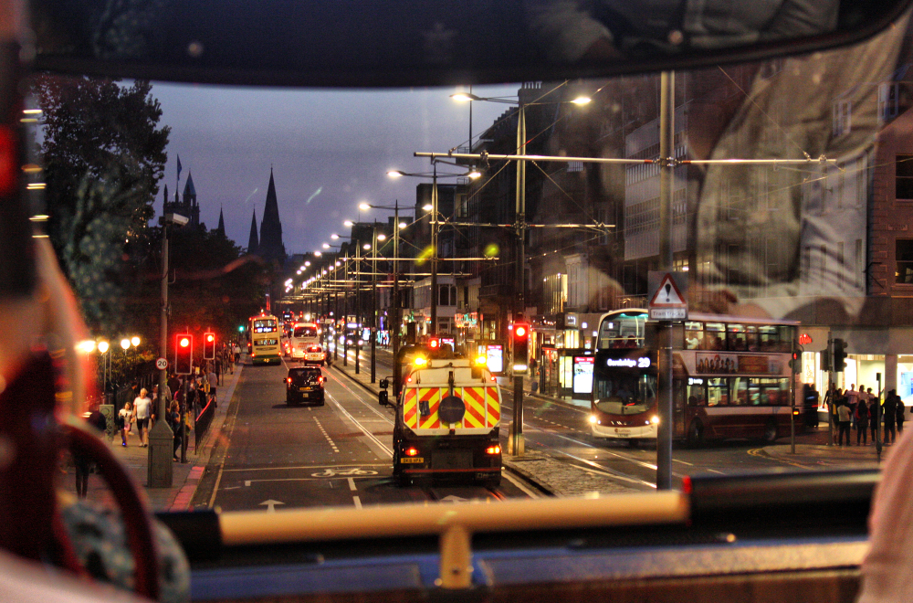 Edinburgh Scotland Night Bus