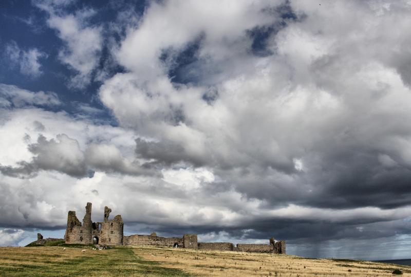 Northumberland UK Dunstanburg