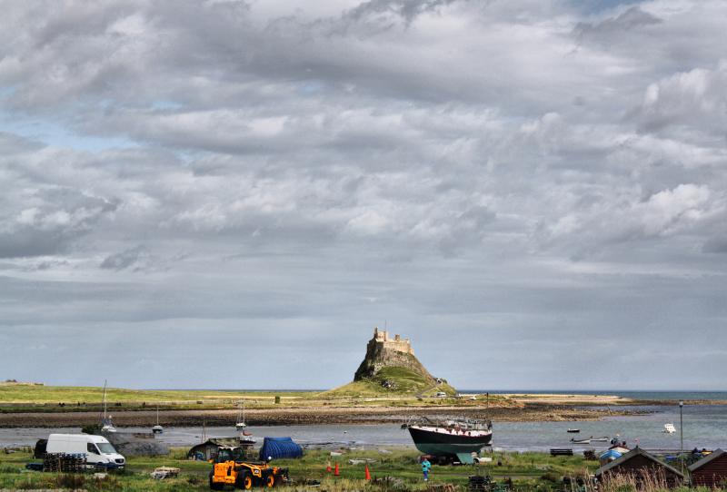 Northumberland UK Lindisfarne