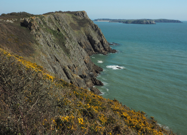Lydstep Pembrokeshire Wales
