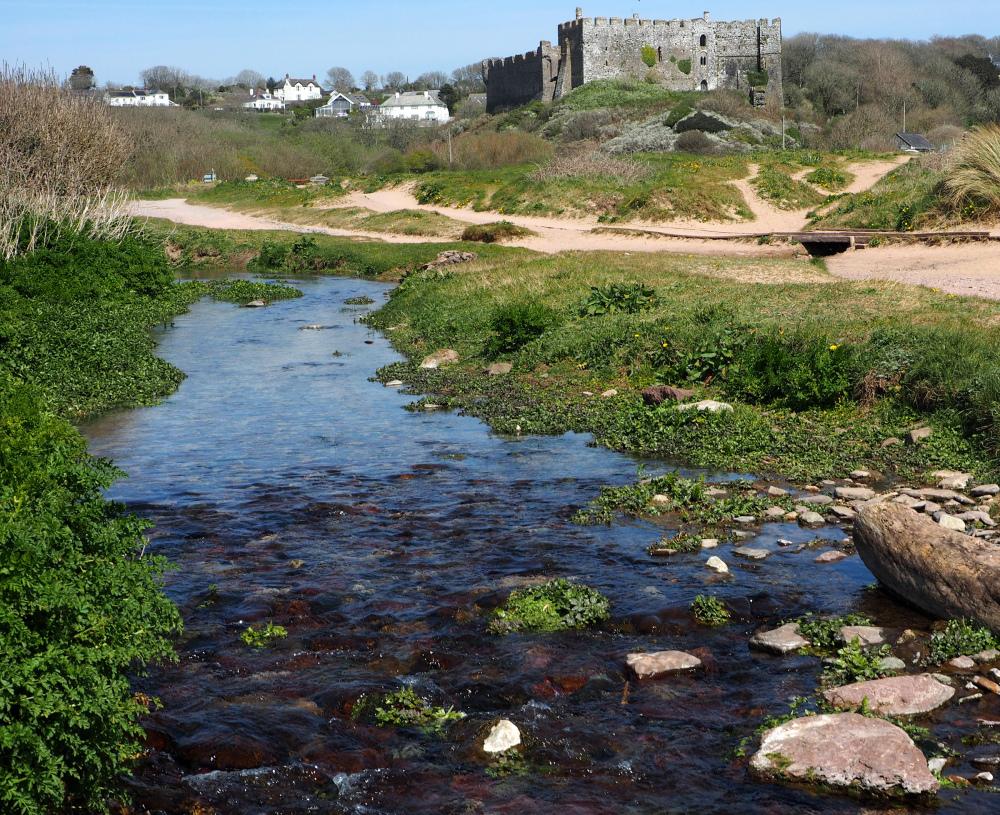 Manorbier Pembrokeshire Wales