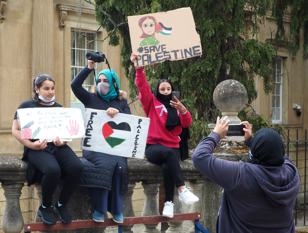 Oxford UK Pro Palestinian Demo